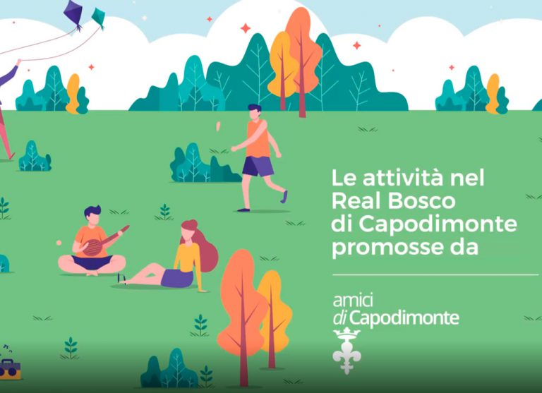<strong>LE ATTIVITA' NEL REAL BOSCO DI CAPODIMONTE</br>Promosse da Amici di Capodimonte onlus</strong>