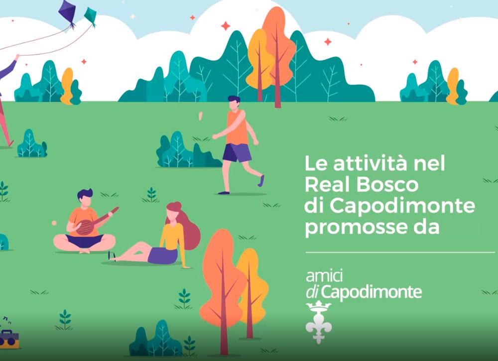Read more about the article <strong>LE ATTIVITA' NEL REAL BOSCO DI CAPODIMONTE</br>Promosse da Amici di Capodimonte onlus</strong>
