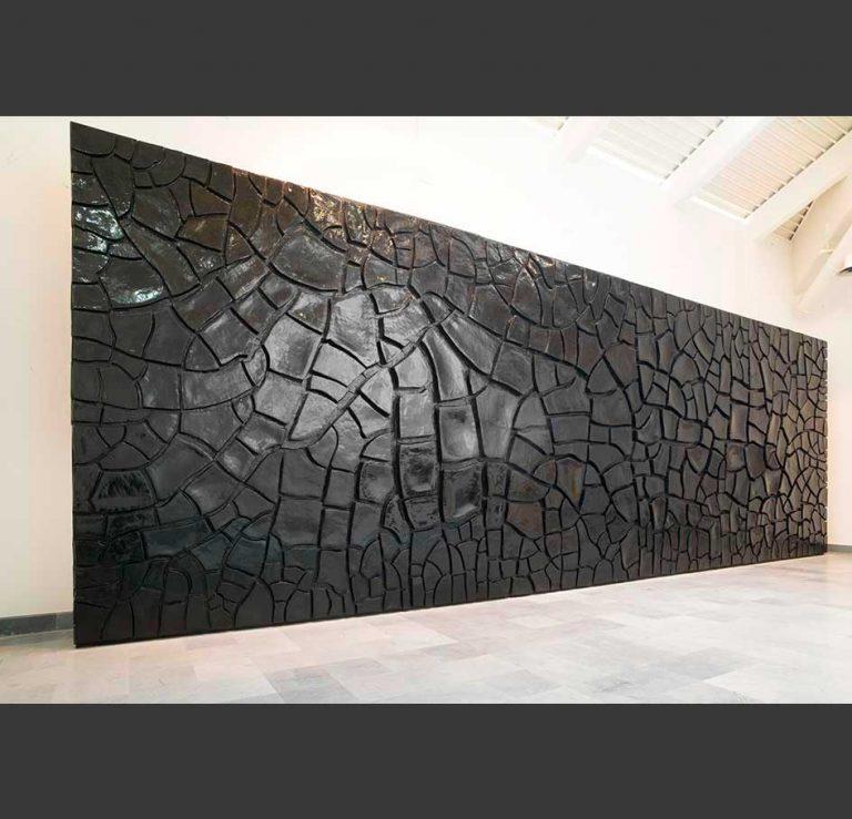 Alberto Burri, Grande cretto nero