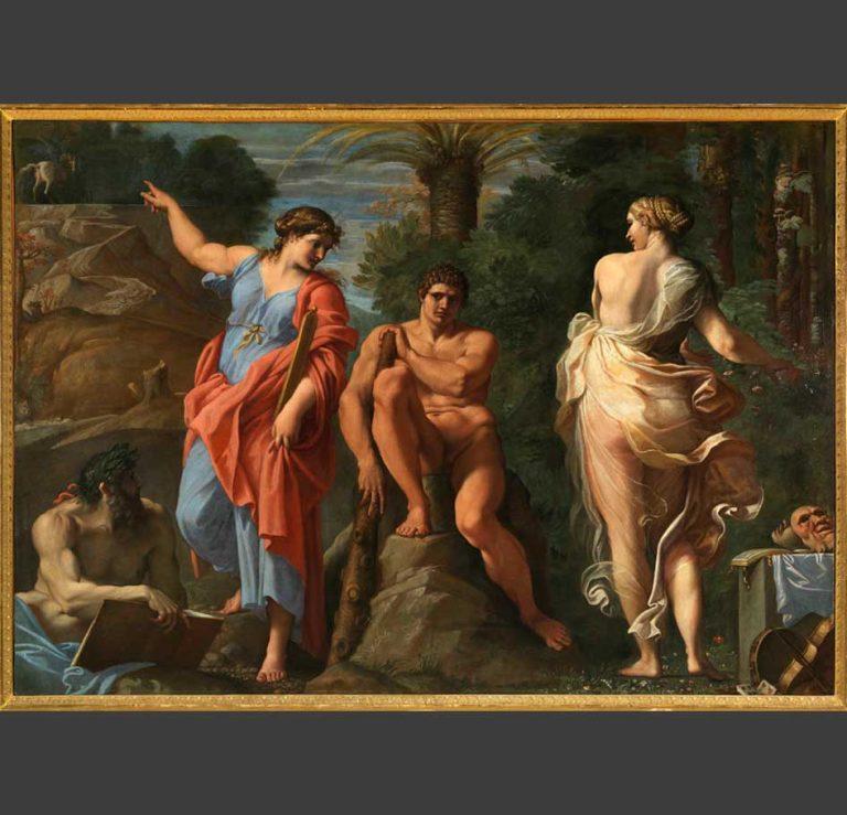 Annibale Carracci, Ercole al Bivio