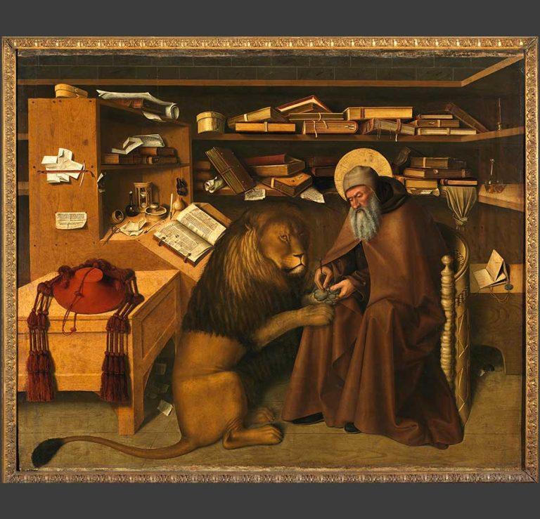 Colantonio del Fiore, San Girolamo nello studio