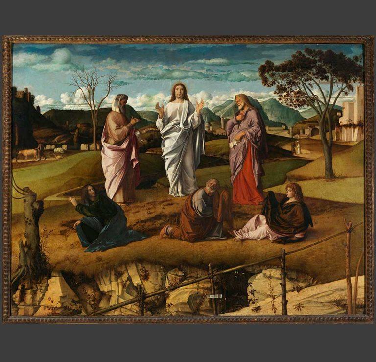 Giovanni Bellini, Trasfigurazione di Cristo