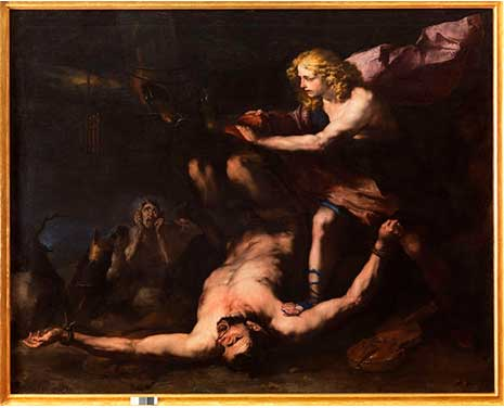 Luca Giordano, Apollo e Marsia