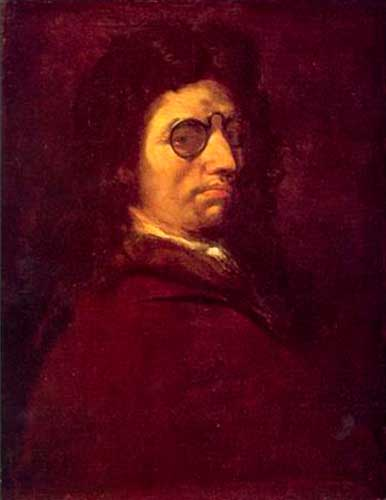 Luca Giordano, Autoritratto
