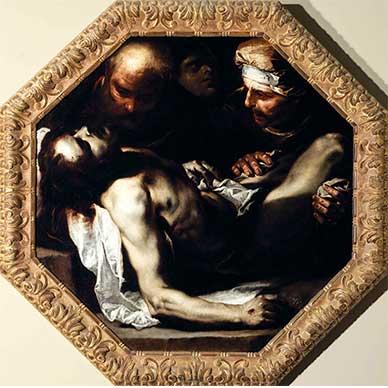 Luca Giordano, Cristo deposto
