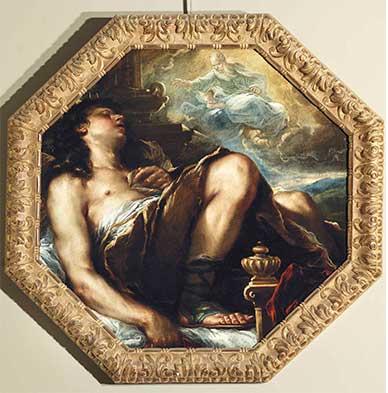 Luca Giordano, Il sogno di Salomone