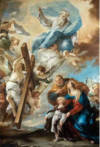 Luca Giordano, Sacra Famiglia