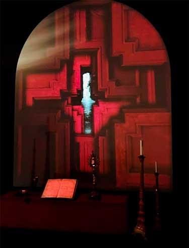 Luca Giordano, Ultima sala, Installazioni Kaos