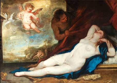 Luca Giordano, Venere e Amore