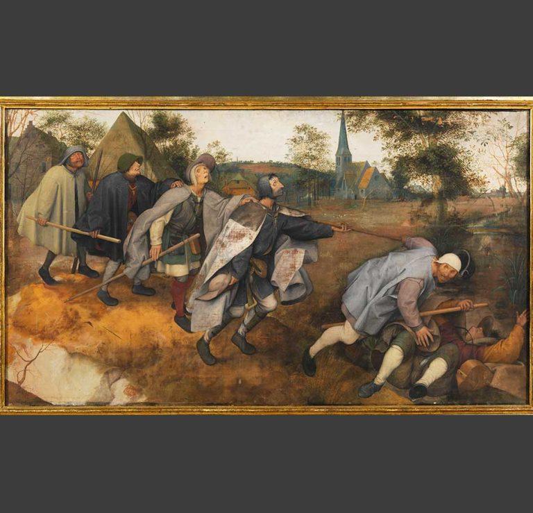 Pieter Brueghel il Vecchio, La parabola dei ciechi