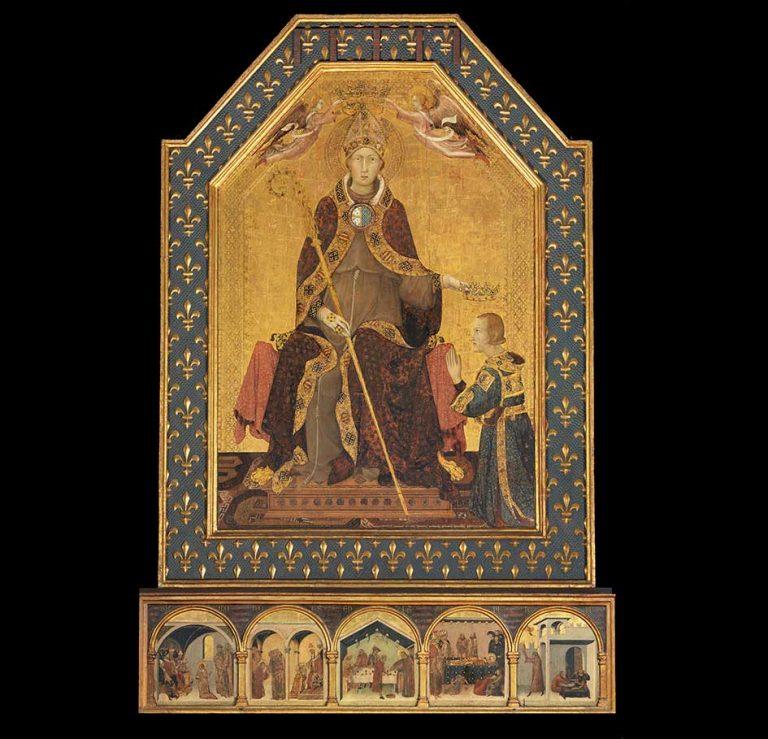 Simone Martini, San Ludovico di Tolosa